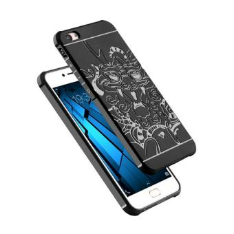 Case TPU Dragon Back Cover Silikon Original for VIVO V5 / Y67 - Black
