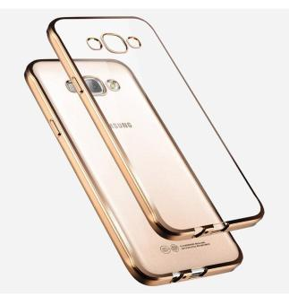 Case Ultrathin Shining Chrome For Samsung Galaxy J2 - Gold
