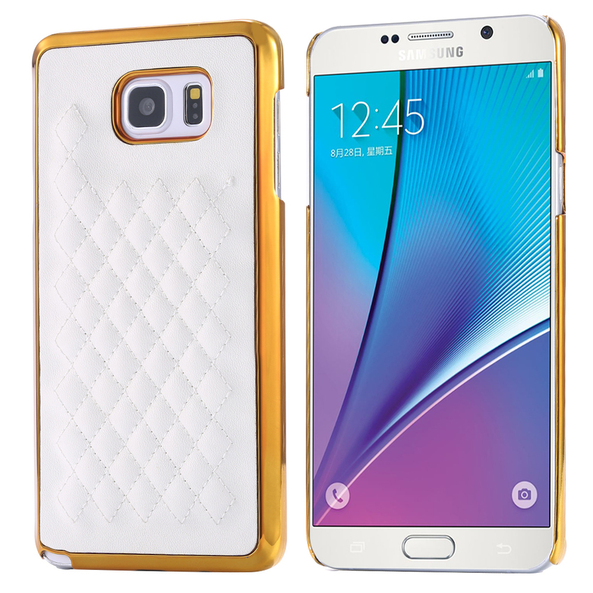 ... Case Ultrathin Shining Chrome Untuk Samsung Galaxy Note 5 Gold