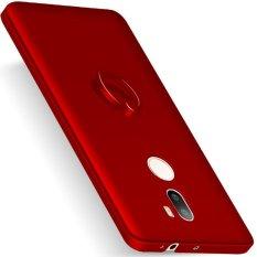 Case untuk Xiaomi Mi 5 S Plus Hard PC dengan Rotating Ring Grip Case Cover-Merah-Intl