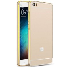 Case Xiaomi MI 5  Elegant Metal Bumper Sliding - Gold