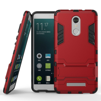 Case Xiaomi Redmi Note 3 Pro Shield Armor Kickstand Series - Merah