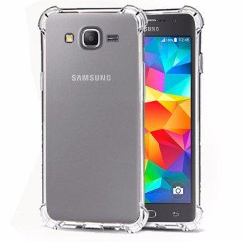 Gambar CaseAnti Shock Anti Crack Shock Benturan Elegant Softcase forSamsung Galaxy J1 Ace Clear Merk: Case