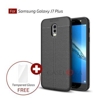 Caselova Ultimate Experience Shockproof Premium Quality Hybrid Case For Samsung Galaxy J7 Plus C710 (Dual