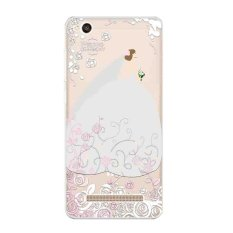 """Cases for Xiaomi Redmi 4A Soft TPU Silicone Phone 5"""" ProtectiveBack Covers Shell Skin Wedding Dress Pattern - intl"""
