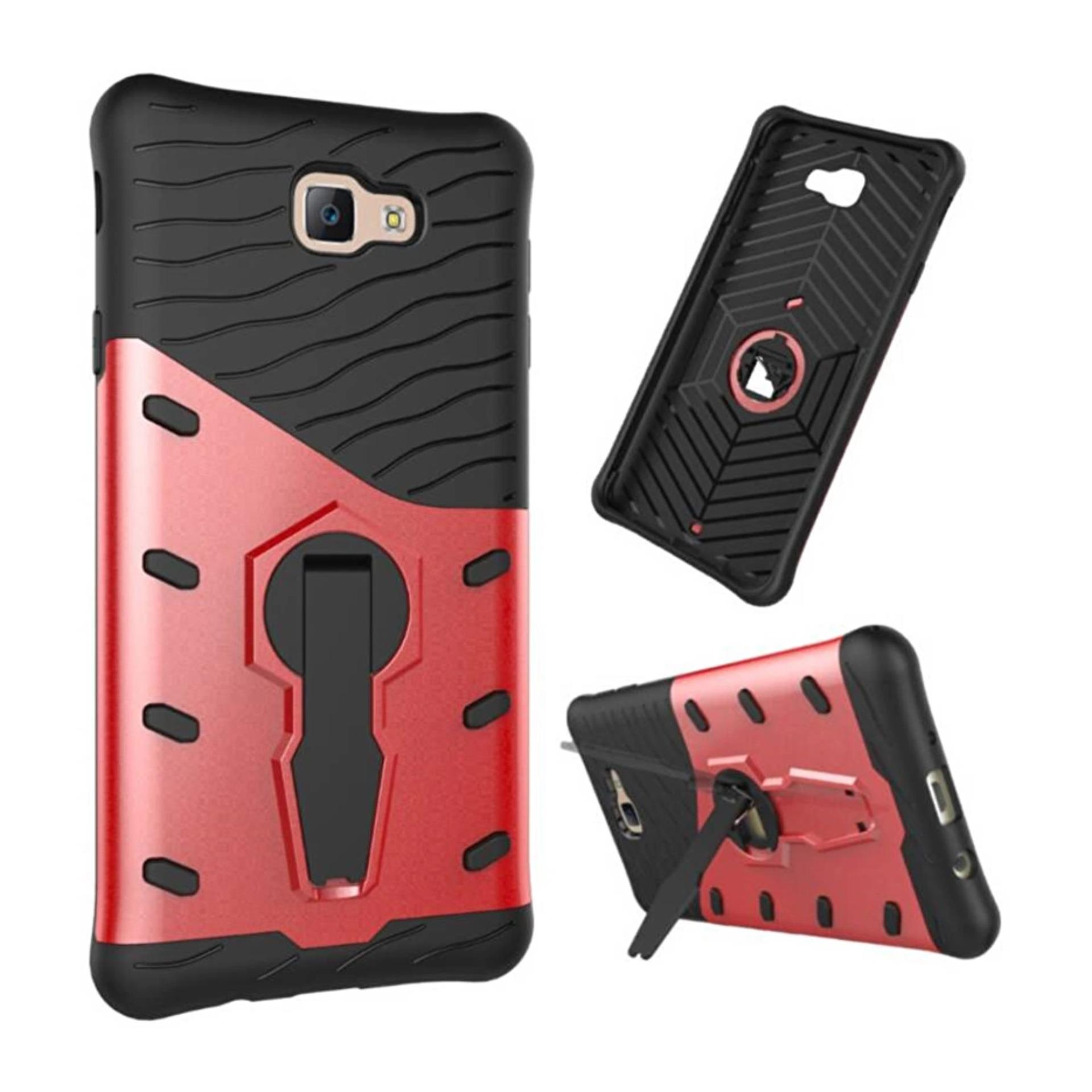 Casing for Samsung Galaxy J7 Prime / On7 2016 Case [360 Kickstand Holder] PC