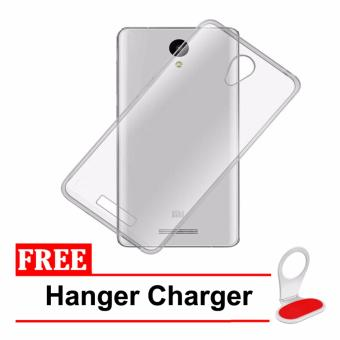 Casing Handphone Softcase Ultrathin Xiaomi Redmi Note 2 + Free Hanger Charger