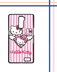 Casing HARDCASE untuk hp Oppo R7 Plus hello kitty pink L0764