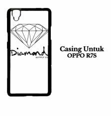 Casing OPPO R7S Black Diamond Supply Co Custom Hard Case Cover