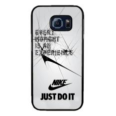 Casing Samsung Galaxy S7 Flat  Motif Every Moment is an Experiance Nike Logo