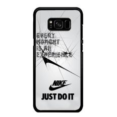 Casing Samsung Galaxy S8  Motif Every Moment is an Experiance