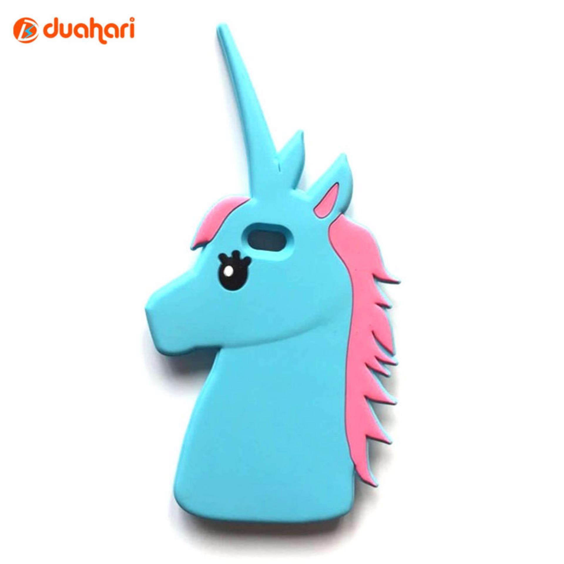 Casing Unicorn Case Silikon Unicorn iPhone 5s Softcase iPhone 5s -Biru .