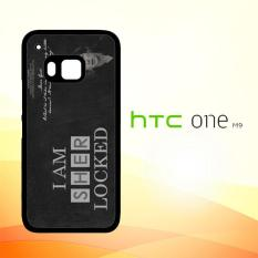Casing Untuk HTC M9 Benedict Sherlock Wallpaper Movies E1117