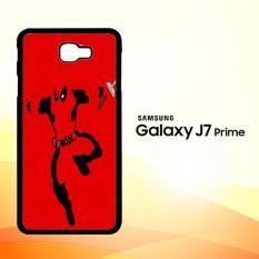 Casing Untuk Samsung Galaxy J7 Prime Deadpool Fighter Z0160