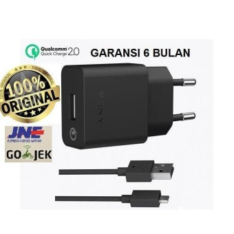 Charger Sony Quick Charger Uch10 Original