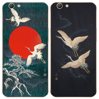 Chinese-style oppoa59a37 cool hair lanyard phone case silicone case