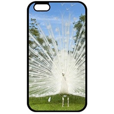 Christmas Gifts iPhone 7 Plus Case Cover, Unique nature white birds albino peacocks Photo Slim Fit Clear Back Cover for iPhone 7 Plus - intl