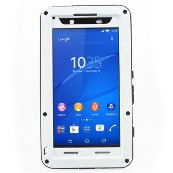 CINTA MEI Tahan Guncangan Tahan Jatuh Tahan Debu kuat menutupi untuk Sony Xperia Z3 + / Z3 + dual E6533 - putih