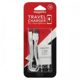 City Acc Travel Charger Fast Charging for All Smartphones - Putih