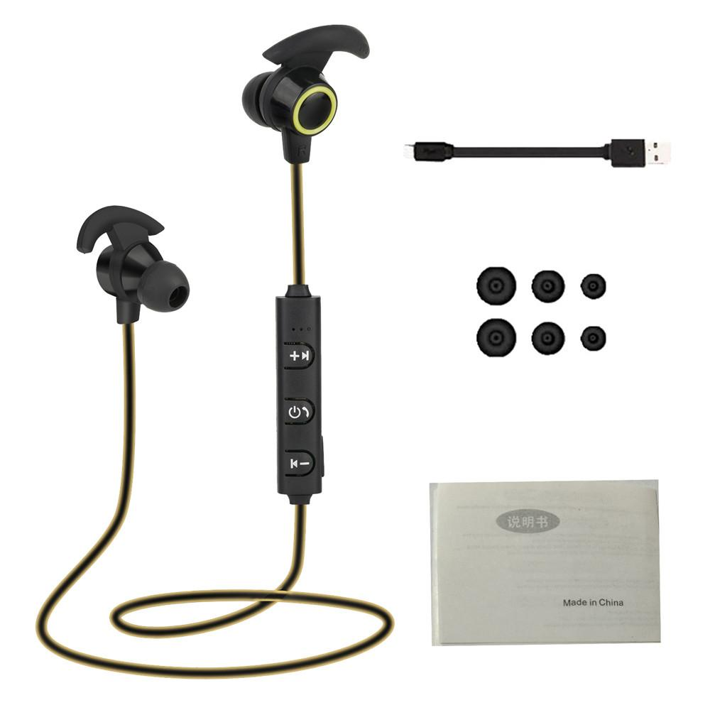 ... Coconie Bluetooth 4.1 Nirkabel Headphone Stereo olahraga earbud In-telinga Headset ...