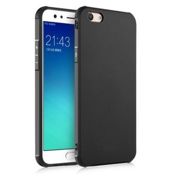 COCOSE Silicone Soft Rubber Slim Back Case for OPPO F3 Plus(Black)- intl