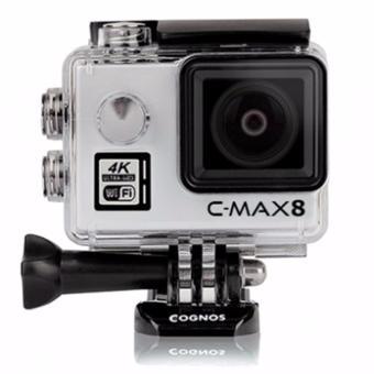 Cognos Omega 4K C-MAX 8 Action Camera 16 MP - MIKA BOX - Silver