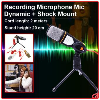 Condenser Sound Studio Recording Microphone Mic Dynamic with Shock Mount