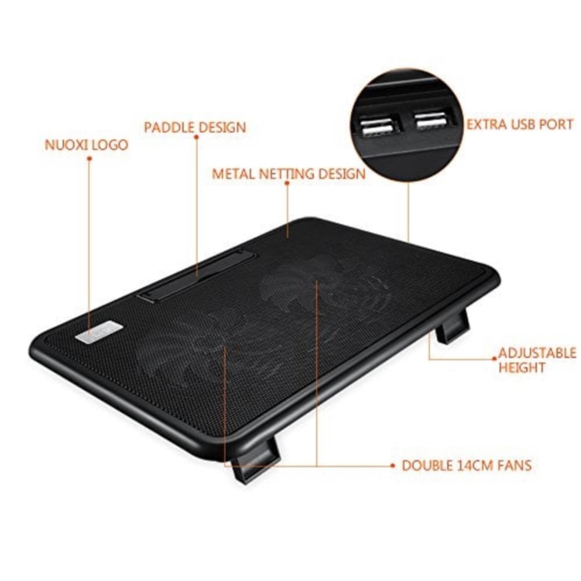 Cooling Pad Coolingpad Cooler Fan Kipas Pendingin Laptop N 19 Cek Bigfan Coolerpad Nc33 Tatakan Max17