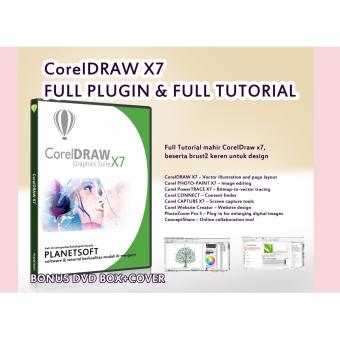 Harga CorelDraw x7 Full Tutorial + Full tamplate