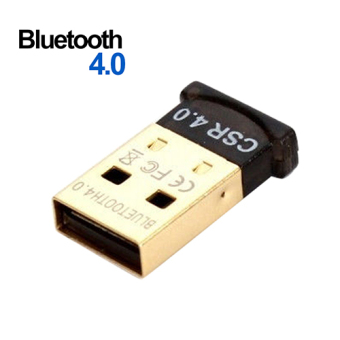 CSR Bluetooth V4.0 USB Receiver Adapter Dongle - Hitam