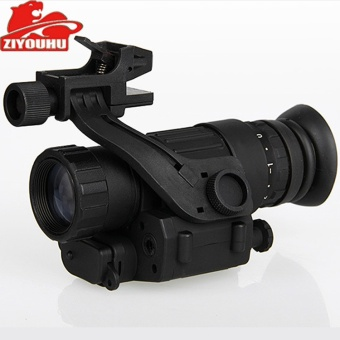 Day And Night With The Military Wearing A Helmet-styleHigh-definition Thermal Imaging Night Vision Binoculars PVS-14Digital Night Vision () - intl