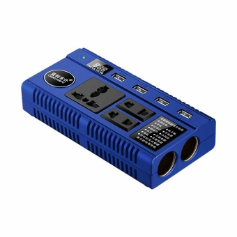 DC 12V/24V 200W to AC 220V Portable Car SUV Power Inverter USBCharger Converter - intl