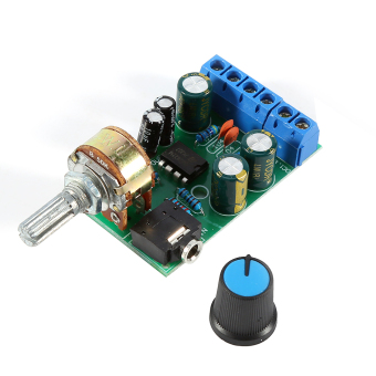 DC1, 8-12 V TDA2822M penguat 2 channel stereo 3.5 mm audio aux papan amplifier modul