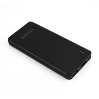 Delcell GUST Powerbank 6000mAh Real Capacity Fast Charging Polymer Battery - Black