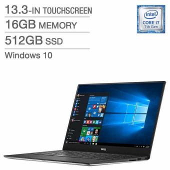 "DELL XPS 13-Intel Core i7 7560U-16GB-13.3"" QHD+ Touch Infinity Display-Windows 10-Silver"