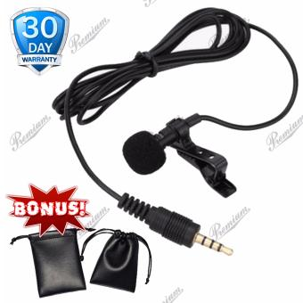 Deluxe 3.5mm Microphone Clip Universal Smartphone / Laptop / Tablet/ PC