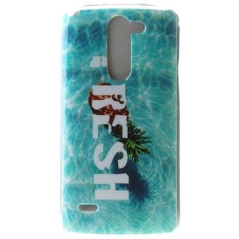 Design Pineapple TPU Soft Gasbag Back Case Cover For LG G3 Stylus D690 - intl