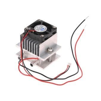 ... DIY Kit Thermoelectric Peltier Cooler Refrigeration Cooling System Heat Sink Conduction Module + Fan + TEC1 ...