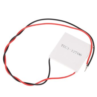 ... DIY Kit Thermoelectric Peltier Cooler Refrigeration Cooling SystemHeat Sink Conduction Module + Fan + TEC1-
