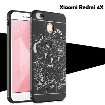 Dragon Cocose Case Xiaomi Redmi 4X Motif Naga - Hitam
