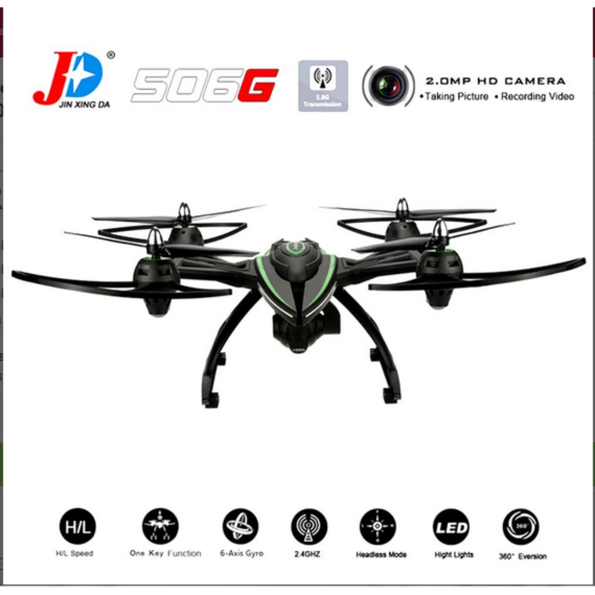 Quadcopter Huajun U Fly W606 3 58g Fpv 2 Mega Camera 24g 4 Channel 6 Syma X8w Rc Drone With Wifi Axis Support Action Cam Gopro Yi Hitam Big Jxd 506g Gyro