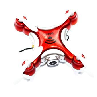 Drone Procam 1508 Mini Drone Wifi + FPV HD Camera With Phone Holder - RED