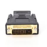 ... DVI-D 24 + 1 Pin Male untuk HDMI Betina M-F Konverter Adaptor untuk HDTV ...