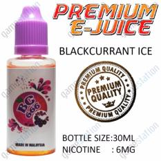 E-Juice Premium E-Liquids BC666 (Blackcurrant Ice Flavor) forElectronic Cigarettes 30ml