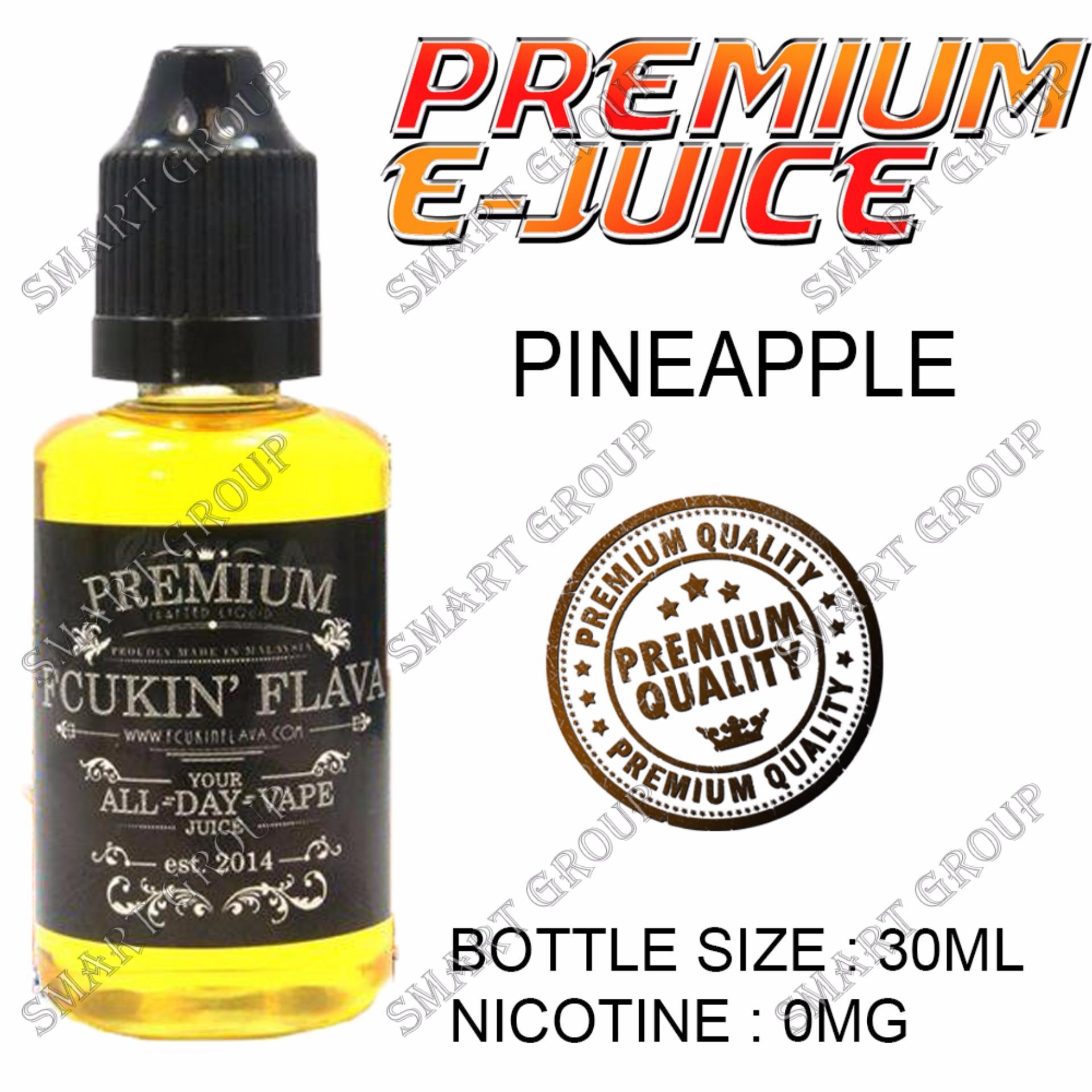 E-Juice Premium E-Liquids Fcukin Flava (Pineapple Flavor) forElectronic Cigarettes 30ml