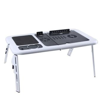 e-Table Foldable Notebook Table Desk / Meja Laptop Lipat Portabel