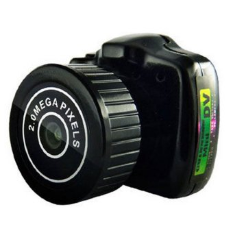 Easybuy Camera Camcorder Video Recorder DVR Spy Hidden Pinhole Web cam Y2000 Mini (Black)