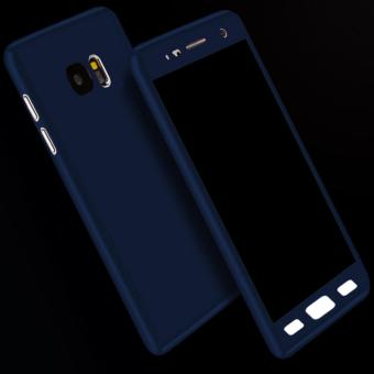 Elaike Case For Samsung Galaxy J7 Prime/On7 2016 Solid Color 360Full Body Protective Case