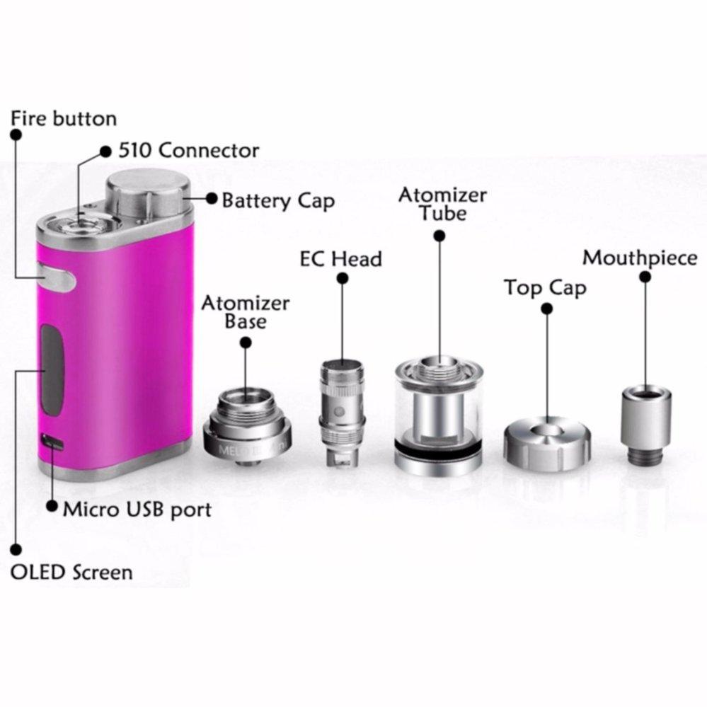 Penawaran Bagus Eleaf Istick Pico 75w Vape Starter Full Kit Lstick Mod Rokok Elektrik Atomizer Melo Iiimini Vapor Battery Awt