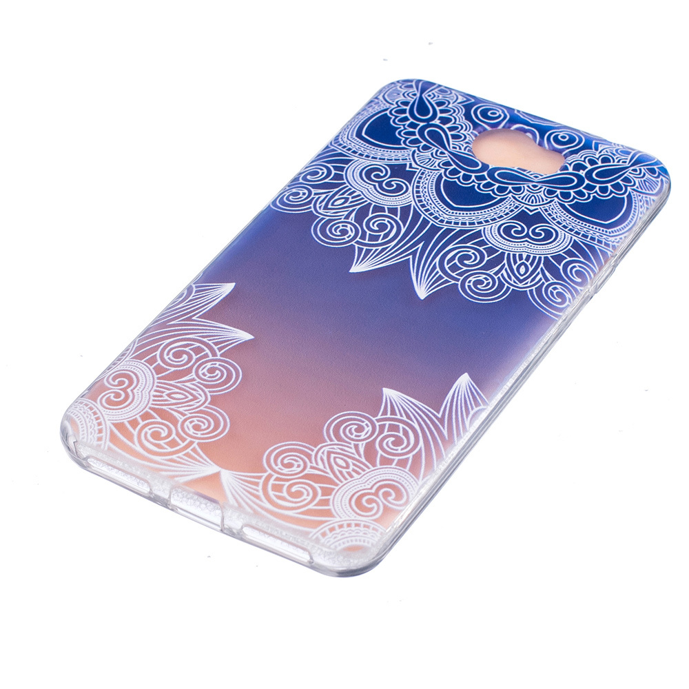 ... Embossing TPU Cover Case for Huawei Y5II / Y5 II / Honor 5 - Unique Flowers ...